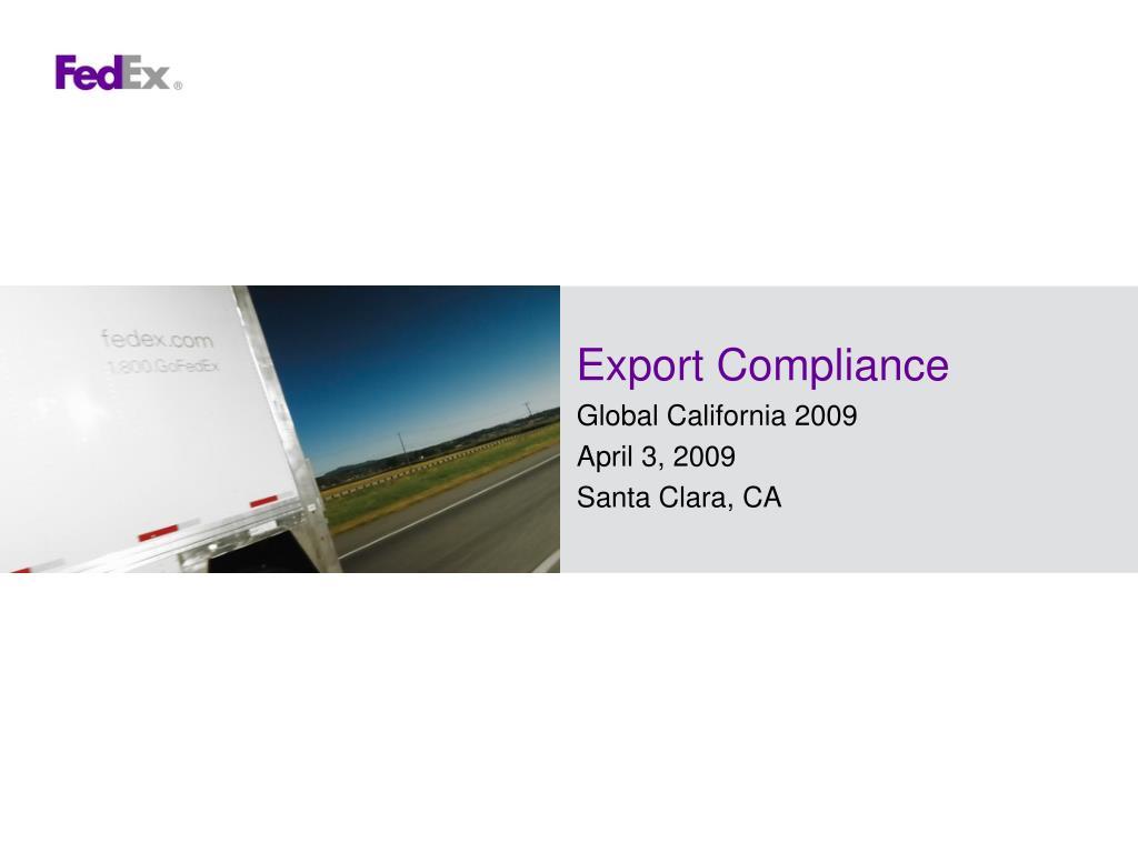 export compliance l.