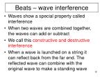 beats wave interference