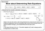more about determining rate equations15