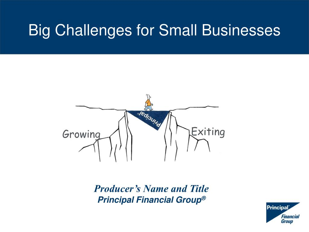 big challenges for small businesses l.