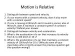 motion is relative52