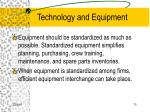 technology and equipment75