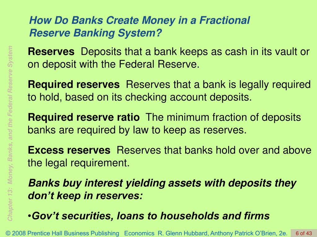 How Do Banks Create Money in a Fractional Reserve Banking System?