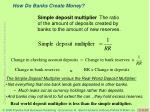 how do banks create money11