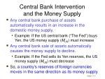 central bank intervention and the money supply4