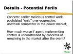 details potential perils9