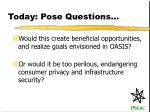 today pose questions4