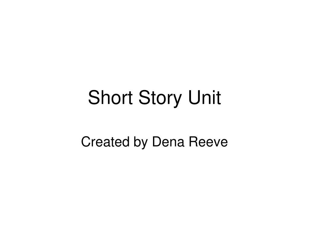 short story unit l.