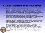 student performance objectives4