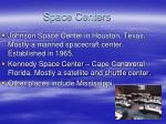 space centers