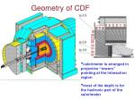 geometry of cdf