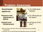 problem awareness31