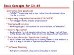 basic concepts for ia 64