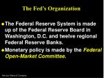 the fed s organization12