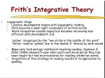 frith s integrative theory