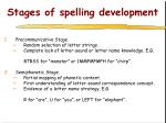stages of spelling development5