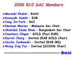 2006 r10 sac members