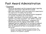 post award administration29