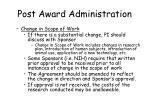 post award administration30