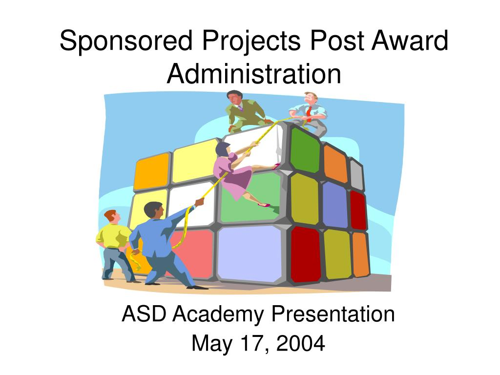 sponsored projects post award administration l.