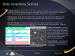 data inventory service