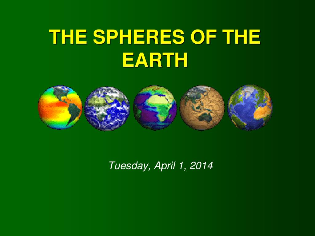 the spheres of the earth l.
