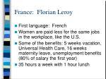 france florian leroy