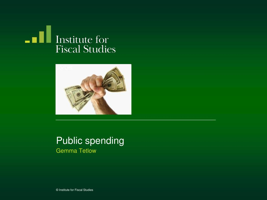 public spending l.