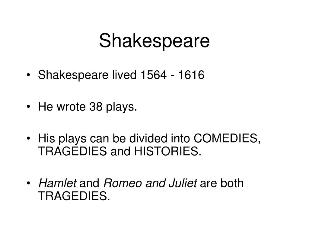 shakespeare l.