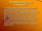 the neutral buoyancy laboratory