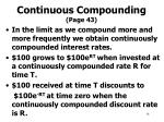 continuous compounding page 43