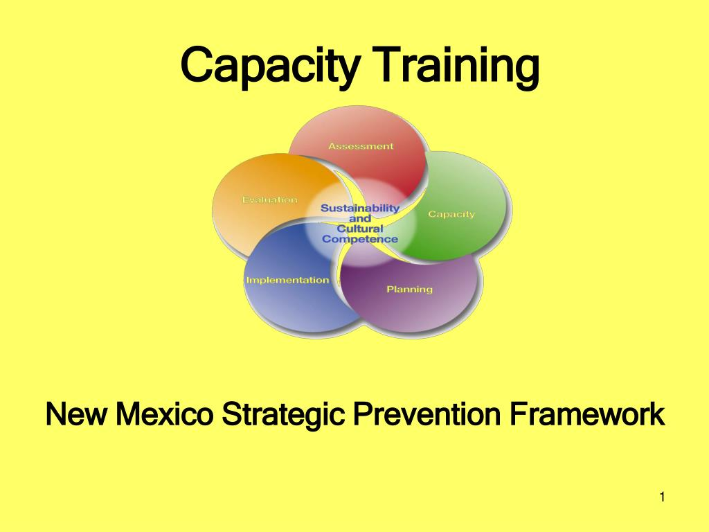 capacity training l.