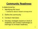community readiness26