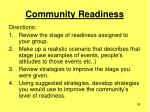 community readiness28