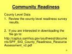 community readiness29