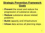 strategic prevention framework goals