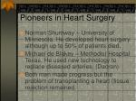 pioneers in heart surgery