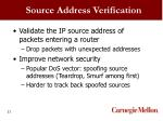 source address verification