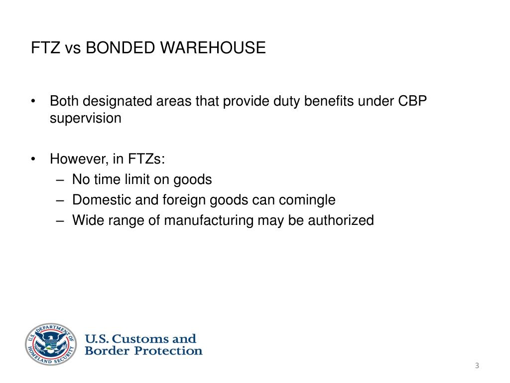 PPT - WHAT IS A FOREIGN-TRADE ZONE? PowerPoint Presentation