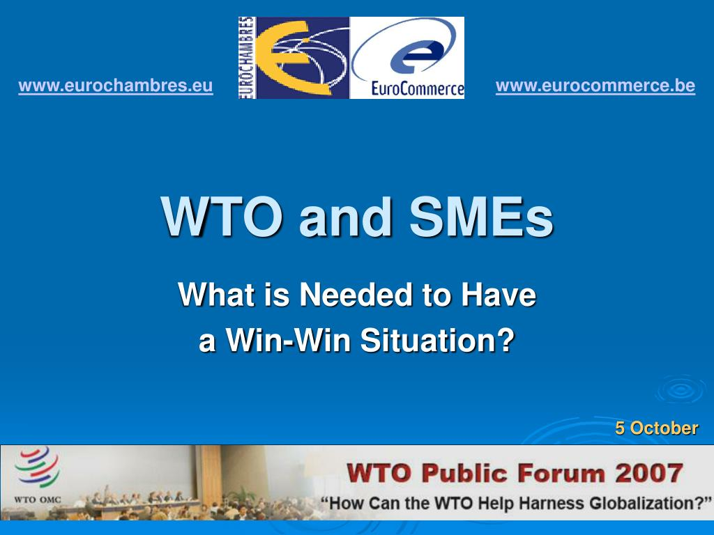 wto and smes l.