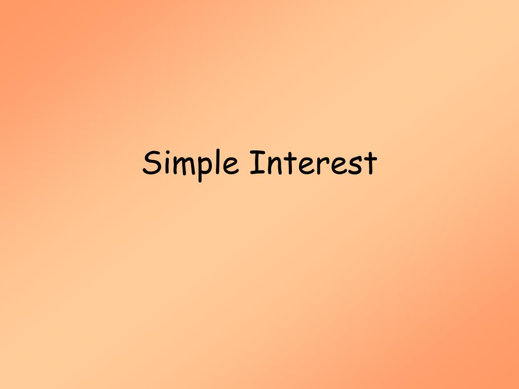 simple interest l.