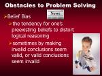 obstacles to problem solving18