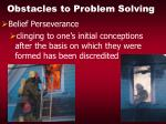 obstacles to problem solving19