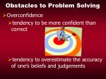 obstacles to problem solving20