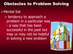 obstacles to problem solving21