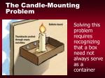 the candle mounting problem30