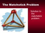 the matchstick problem24