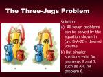 the three jugs problem27