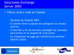 soluciones exchange server 200312