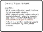 general paper remarks6